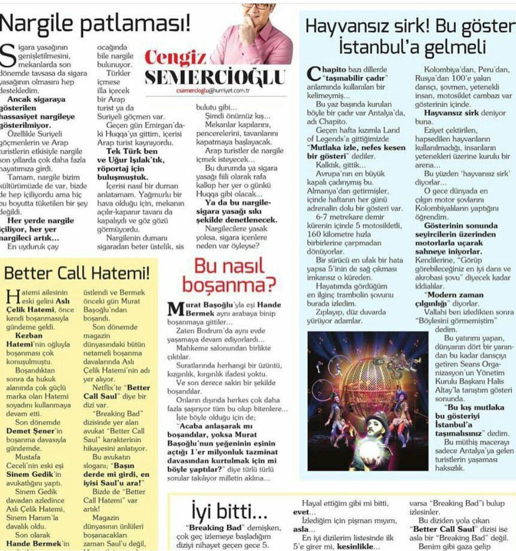 Circus without animals! This show must come to Istanbul